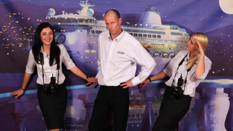 Cruise Ship Photography Equipment And Daily Work