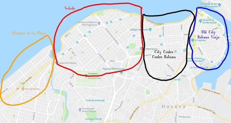 Best area to stay in Havana