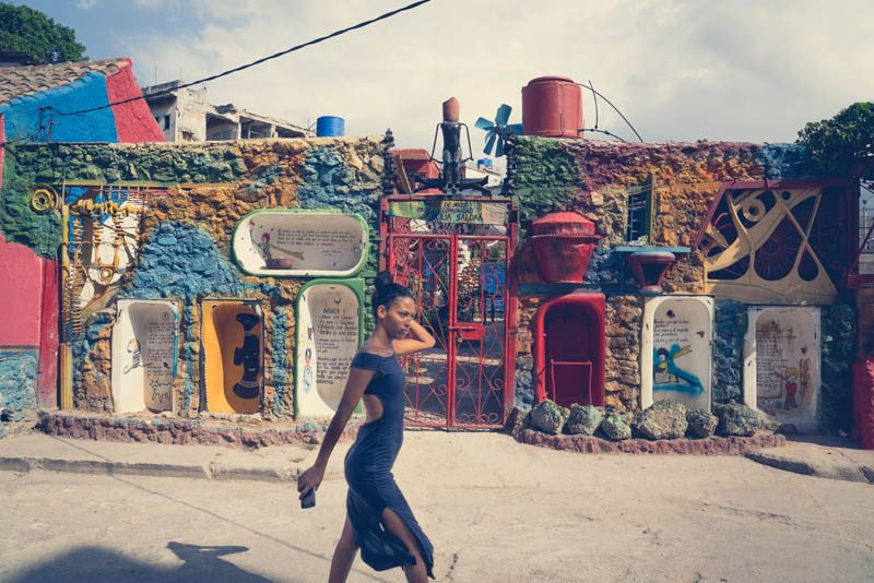 A street art lane not to be missed, Callejon de hamel