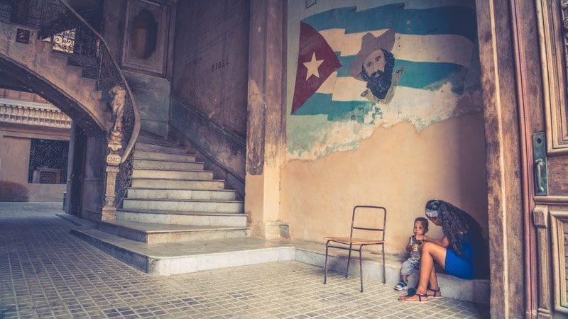 One of my favorite photos of Cuba, in the Havana City Centre