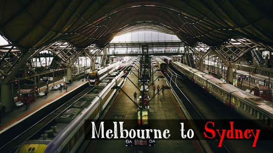 How To Get from Melbourne to Sydney 2019 [with photos - train